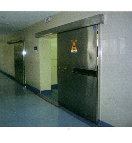 电动不锈钢防护铅门
