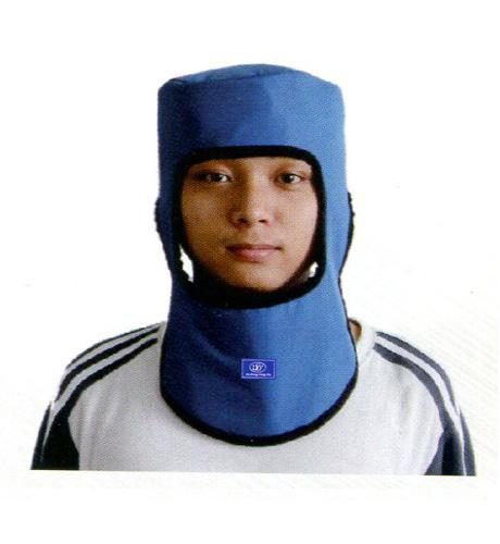 围领和帽子连体型