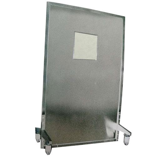 铅屏风铅玻璃400X400观察窗