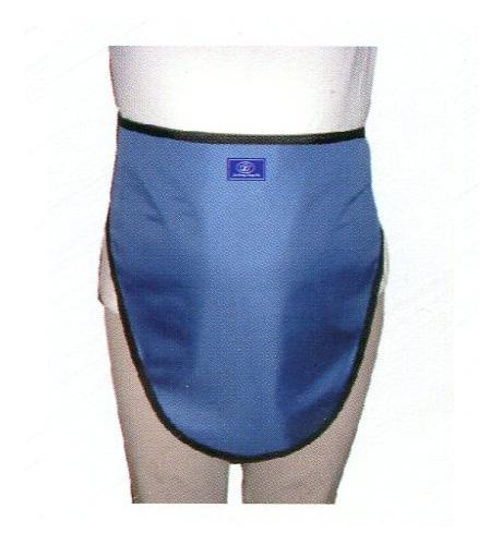 医用射线性腺防护帘(三角巾)